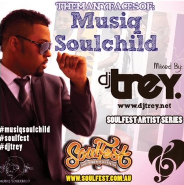 TheManyFacesOfMusiqSoulchild - Mixed By Dj Trey