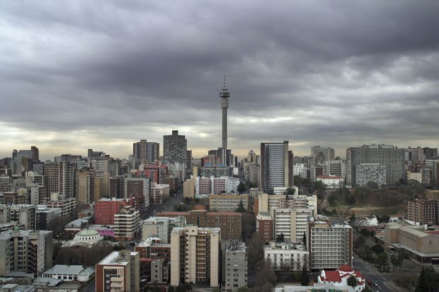 View of Hillbrow, looking north from the top of the Mariston Hotel © Guy Tillim