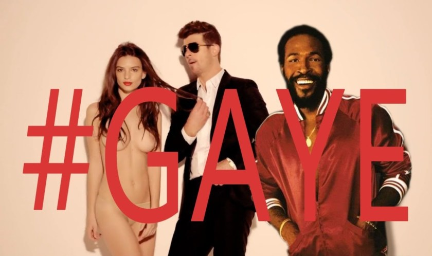 Robin Thicke feat. Marvin Gaye - Got To Give Up The Blurred Lines (Mashup)