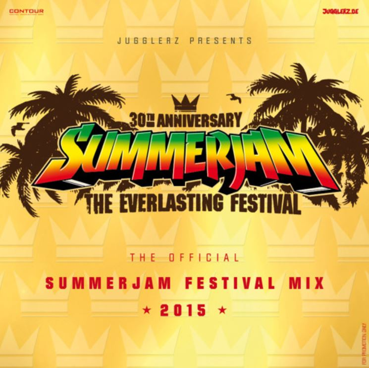 SUMMERJAM FESTIVAL MIX 2015