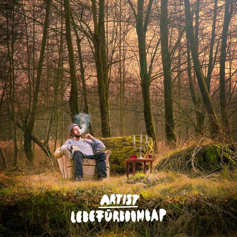 ArtisT LEBEFÜRBOOMBAP mixtape cover