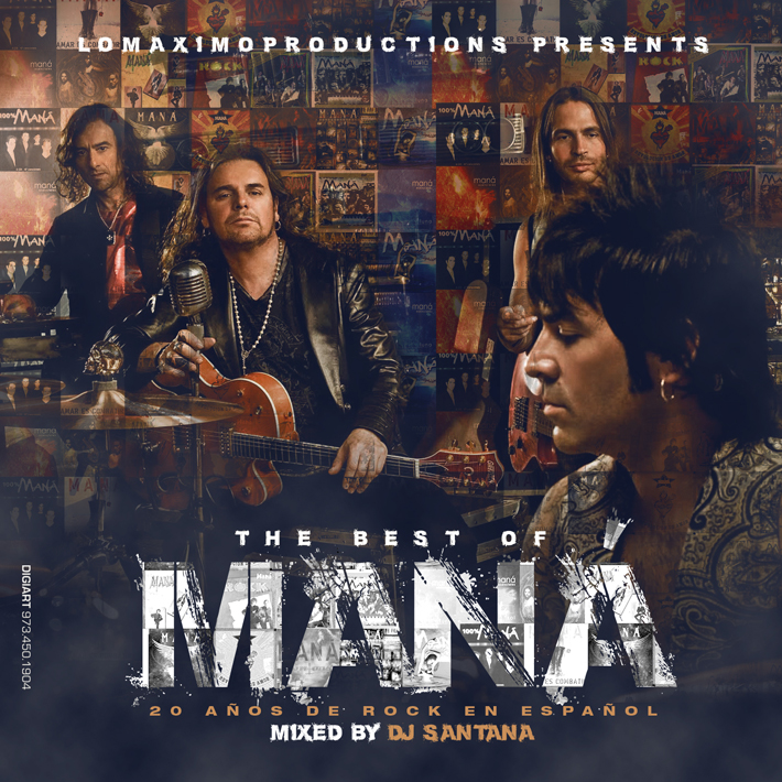 DJ Santana – The Best of Maná