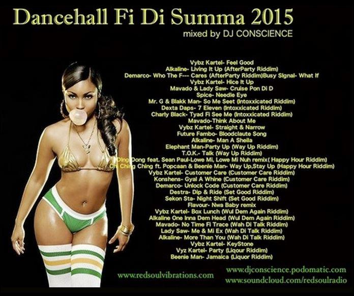DJ CONSCIENCE presents Dancehall Fi Di Summer 2015