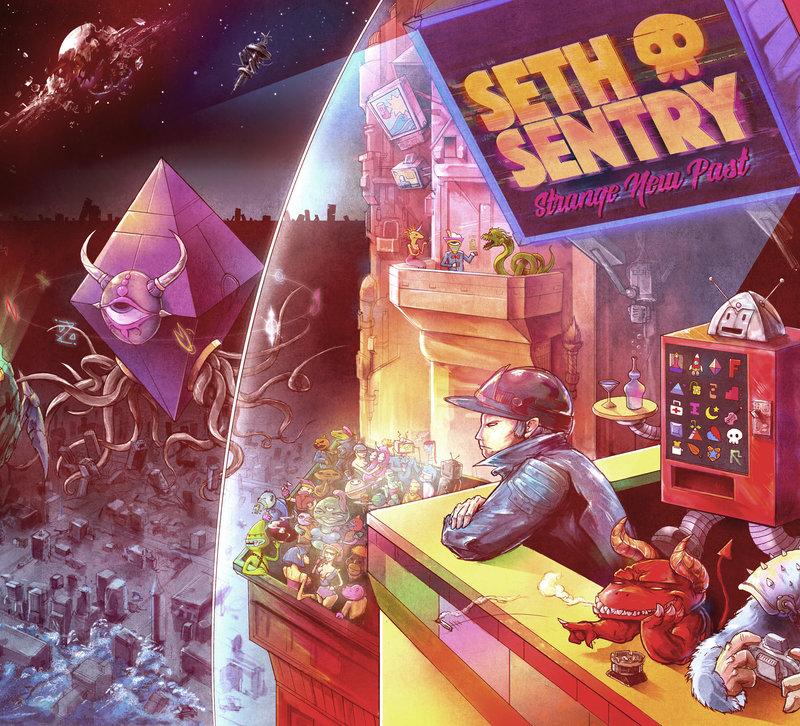 SETH SENTRY - STRANGE NEW PAST Cover