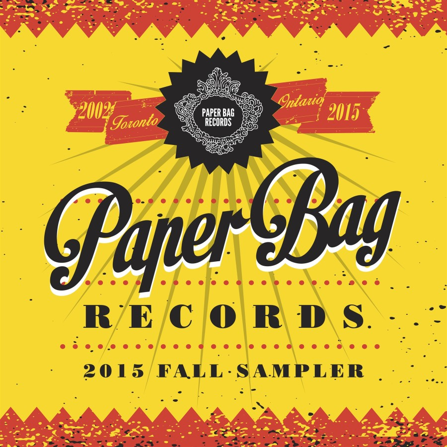 Paper Bag Records 2015 Fall Sampler