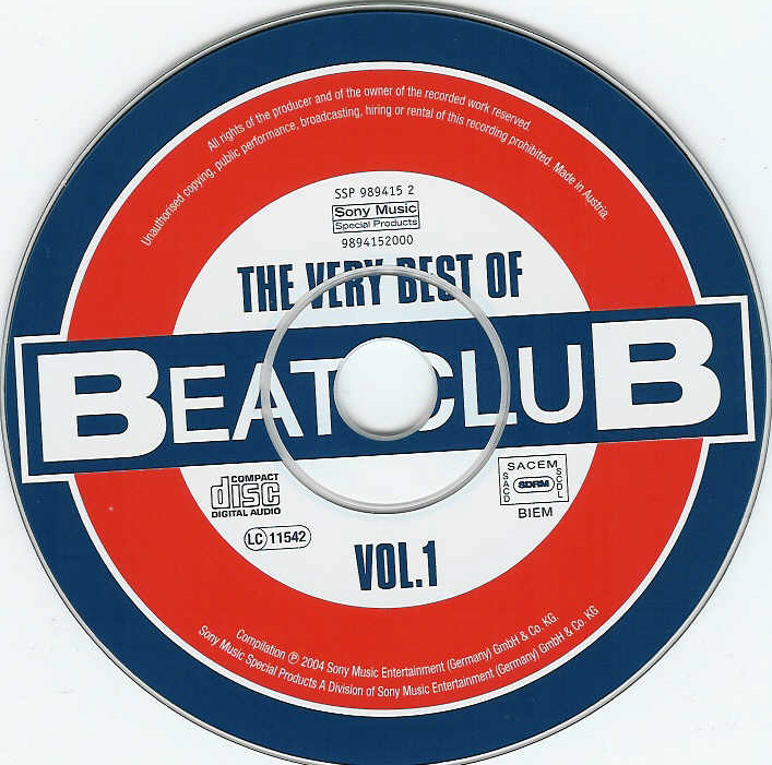 V.A. - The Very Best Of Beat-Club Vol.01 - CD