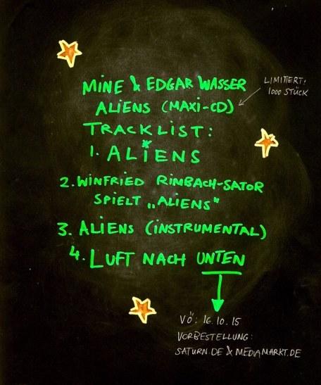 aliens maxi cd
