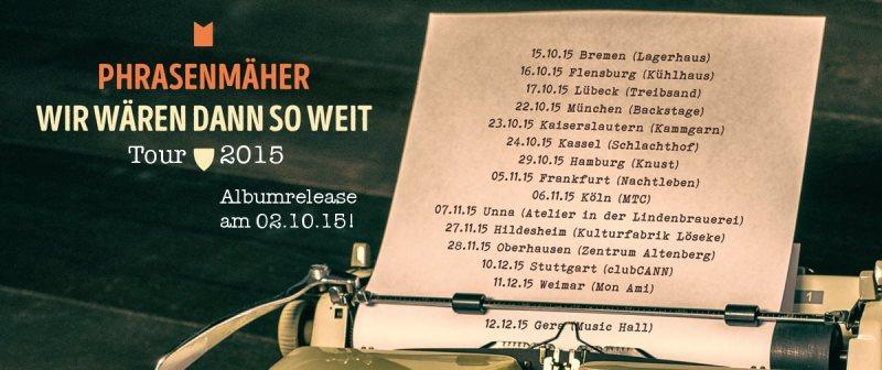 phrasenmäher tour