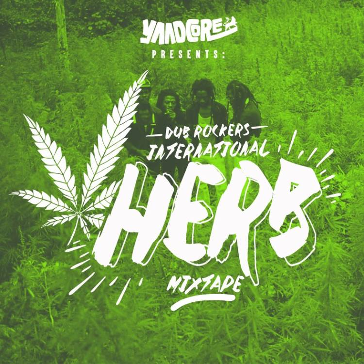 Yaadcore_Dub-Rockers_Intl-Herb-Mixtape_Front-Cover