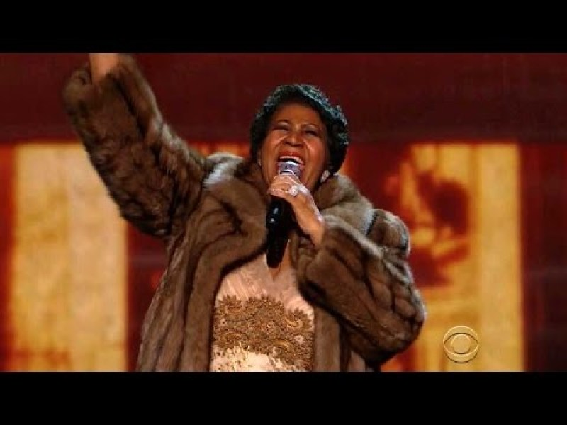 Aretha Franklin (You Make Me Feel Like) A Natural Woman - Kennedy Center Honors 2015
