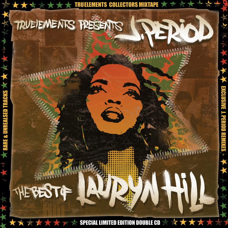 J.PERIOD x THE BEST OF LAURYN HILL FIRE & WATER