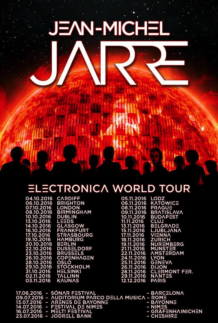 JEAN-MICHEL JARRE Electronica Tour