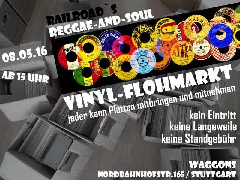 Reggae Soul Vinyl Flohmarkt