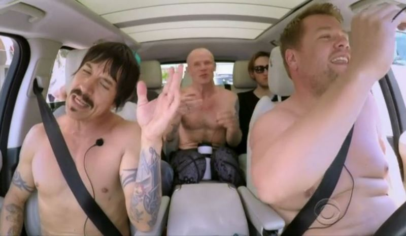 Red Hot Chili Peppers #CarpoolKaraoke
