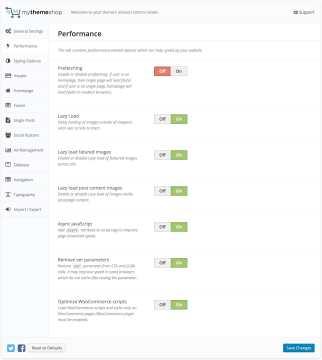 Schema Performance Settings