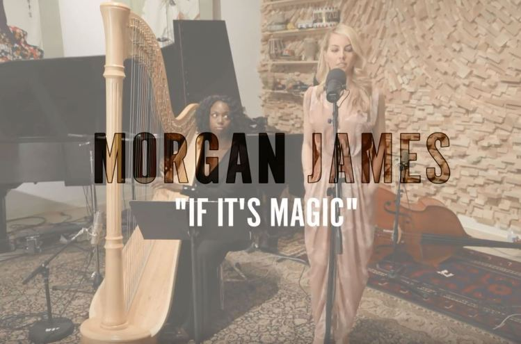 Stevie Wonder - If It's Magic (Morgan James - Cover)