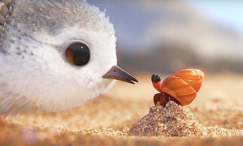 "Der OSCAR für den besten animierten Kurzfilm ging an ""PIPER"" (Video)"