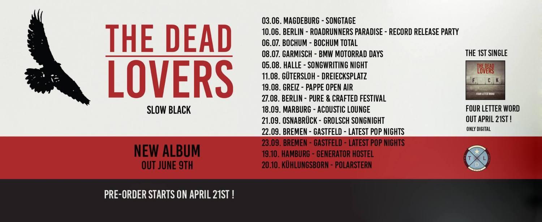 "The Dead Lovers ""Four Letter Word"" live @ Hamburger Küchensessions (Video) // + Tourdaten"