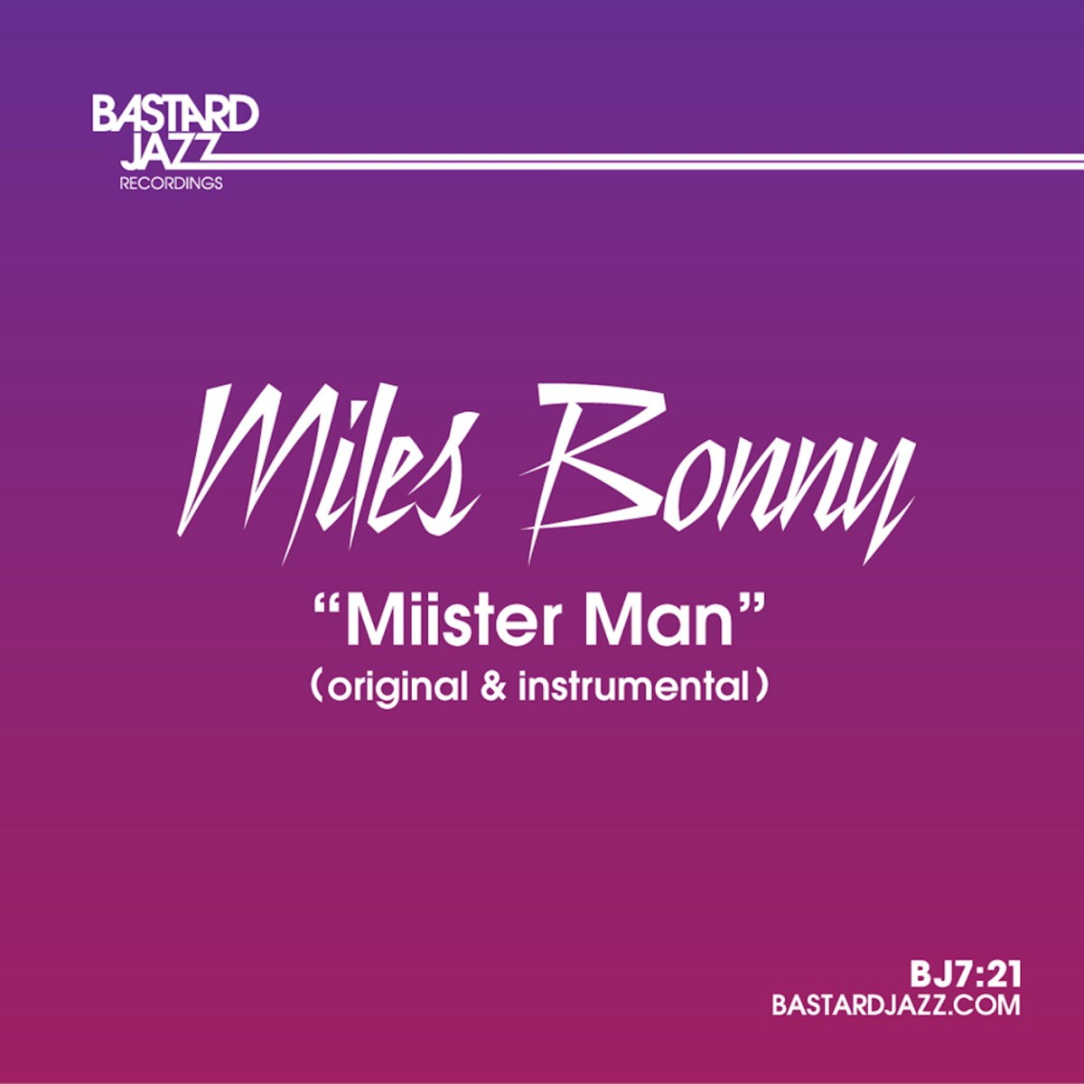 Miles Bonny - Miister Man (OFFICIAL VIDEO)
