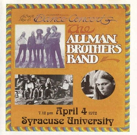 R.I.P. Gregg Allman // THE ALLMAN BROTHERS BAND – My Brothers Keeper – Syracuse, New York, April 4, 1972 Soundboard – full stream