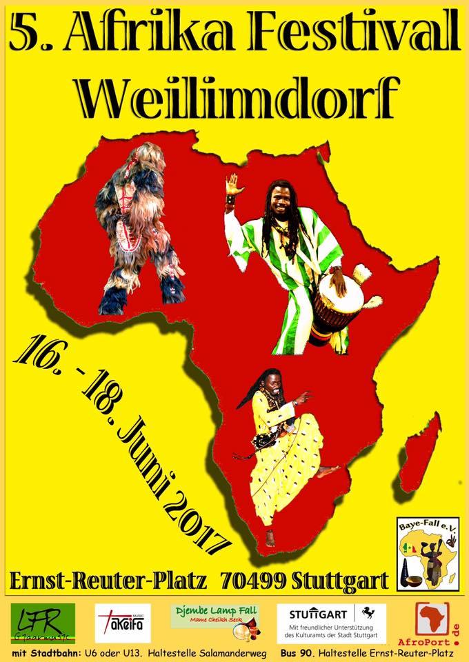 Veranstaltungstipp: 5. Afrika Festival Weilimdorf (Stuttgart)