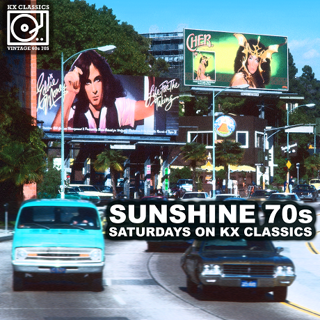Sunshine 70s – Saturdays on KX Classics #6 – Mix