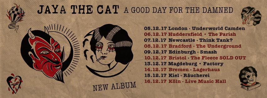 A Good Day For The Damned - das fünfte Studioalbum der höchst beliebten Ska-Reggae-Punk-Band JAYA THE CAT ist draußen // Video + full Album stream