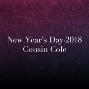 New Year's Day 2018 Mix von COUSIN COLE