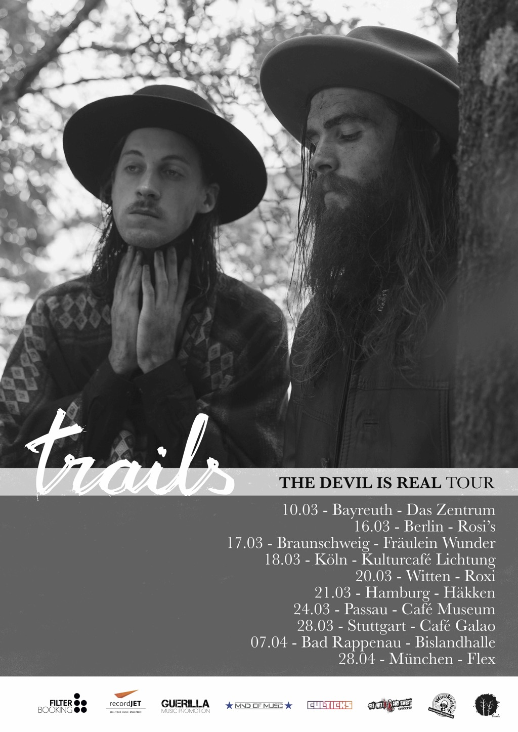 Trails – The Devil Is Real Tour startet am 10. März 2018