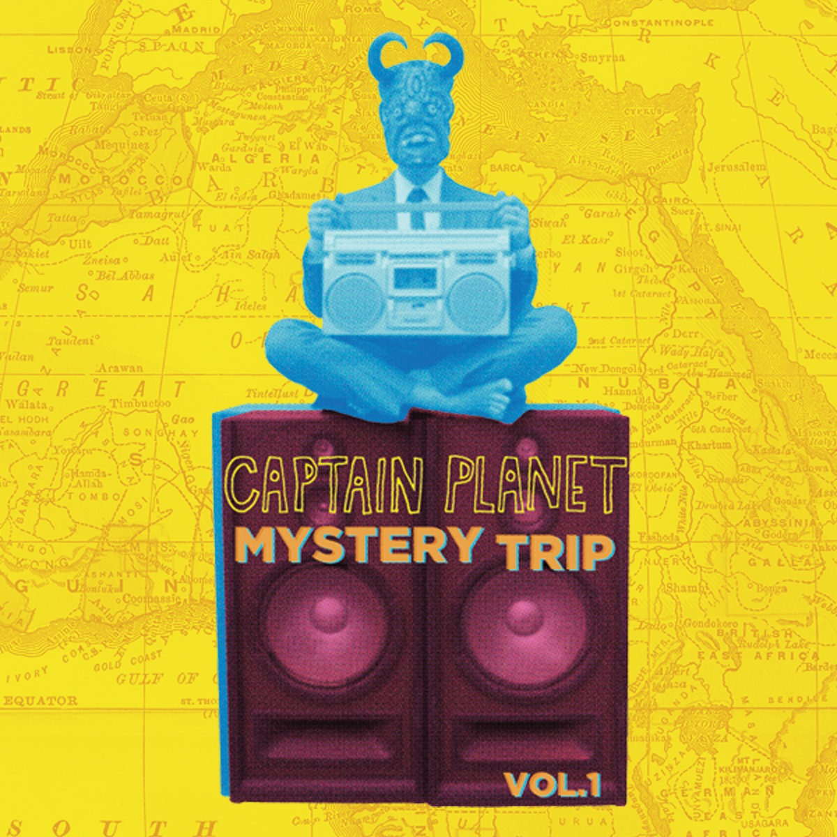 Captain Planet - Mystery Trip Vol. 1 Mixtape