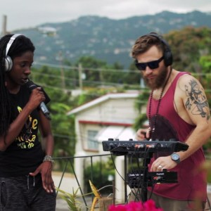 Jah9 & DUB FX - Steamers A Bubble Dubplate (Video)