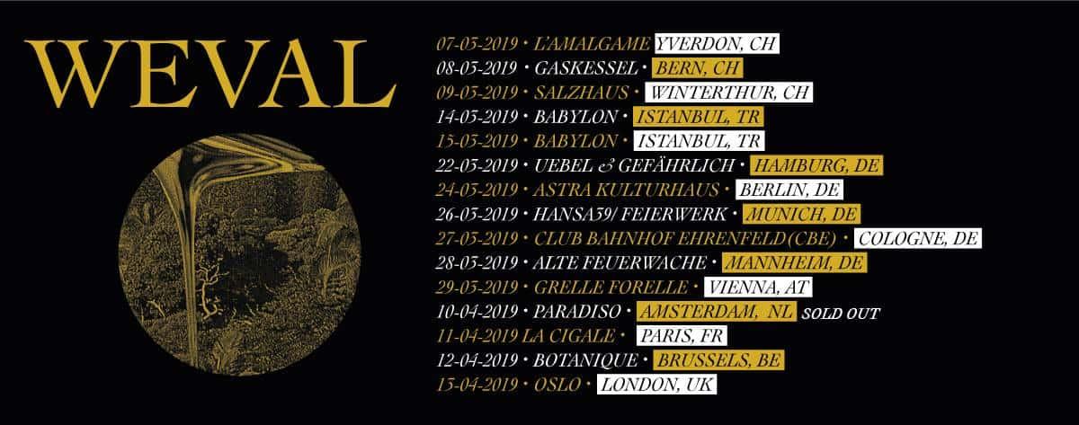 Happy Releaseday: Weval - The Weight • full Album-Stream + Tourdaten
