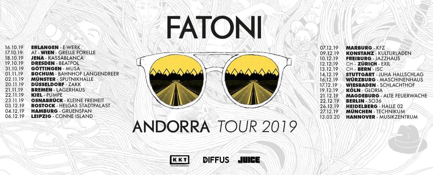 Happy Releaseday: Fatoni veröffentlicht mit #Andorra eines der Deutsch-Rap-Alben des Jahres! • 3 Videos + Album-Stream + Tourdaten