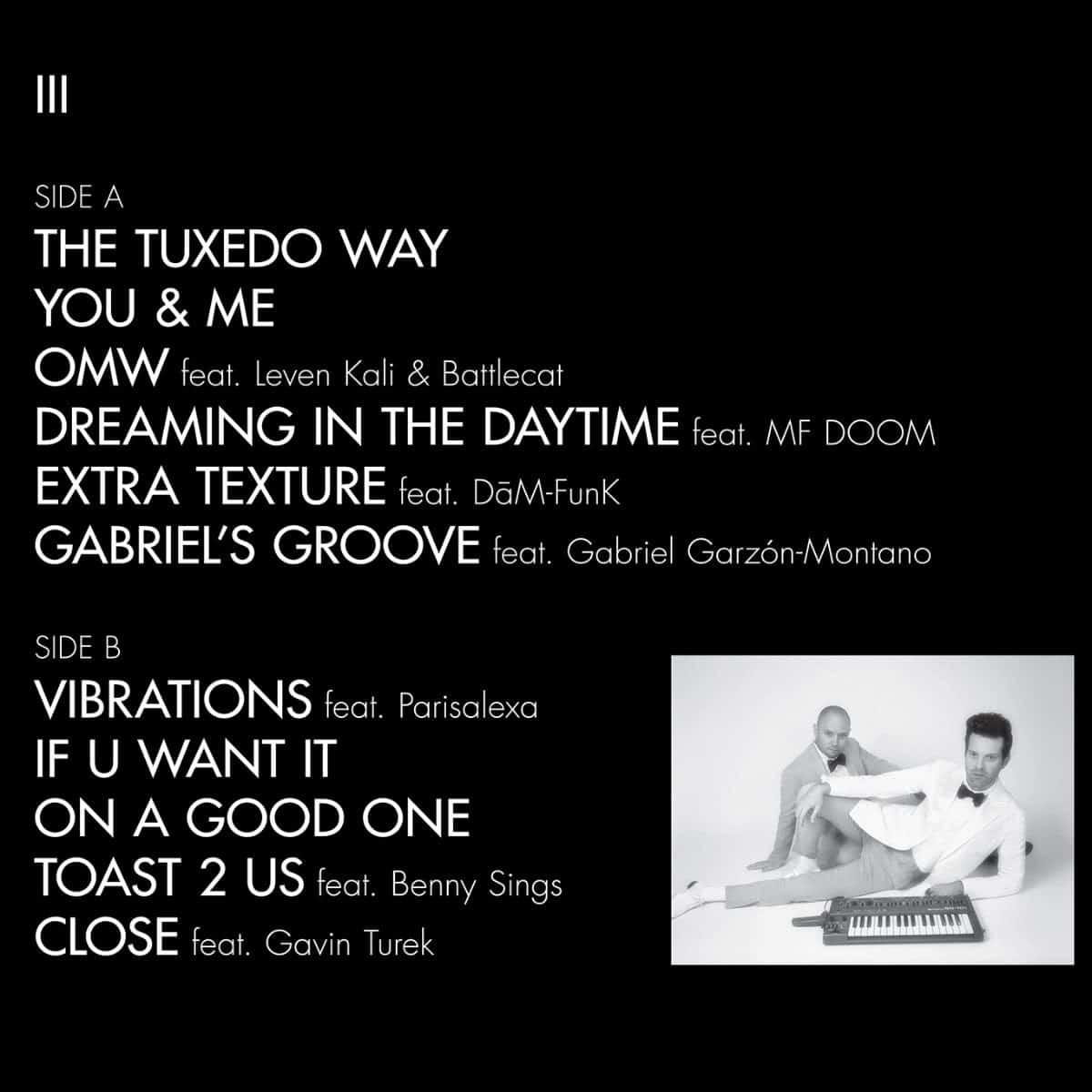 Happy Releaseday: TUXEDO III • Video + Album-Stream • 💃🥂🕺
