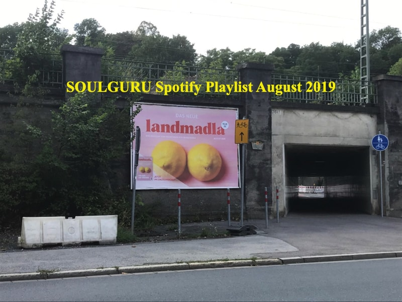 Die SOULGURU Spotify Playlist August 2019 ist da!