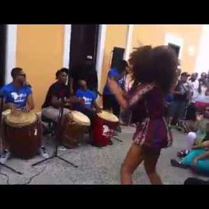 Bomba Drumming