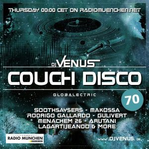 Couch Disco 070 by Dj Venus (Podcast)