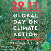 SEEED unterstützen den 4. globalen Klimastreik am 29.11.19 in Berlin! #ACTNOW #FRIDAYSFORFUTURE #NEUSTARTKLIMA #SEEED
