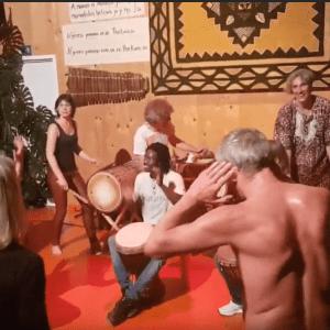 Jubiläumsfeier 10 Jahre TROMMELEI Weil der Stadt - Djembe-Tanz (Video)