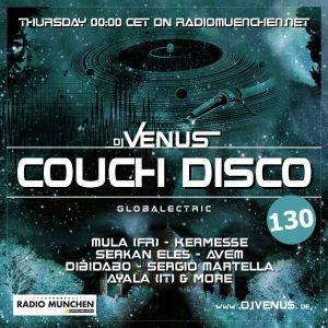 Couch Disco 130 by Dj Venus (Podcast)
