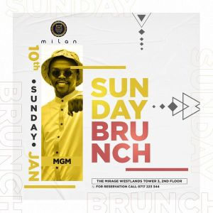 MGM presents MILAN Sunday Brunch Live Amapiano Mix