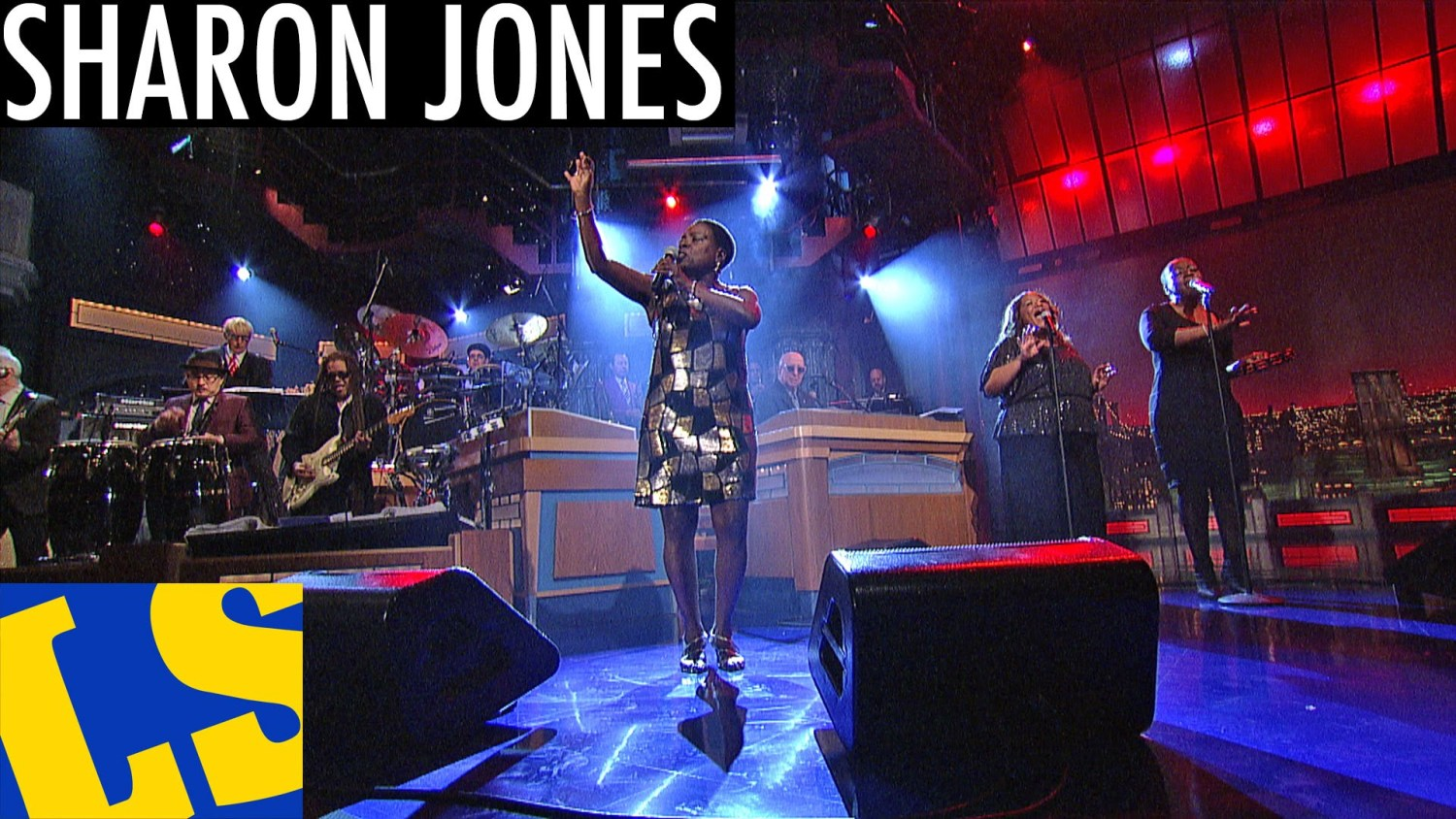 Sharon Jones Making Up and Breaking Up David Letterman