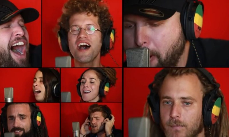 bob-marley-70th-birthday-celebration-acapella-video