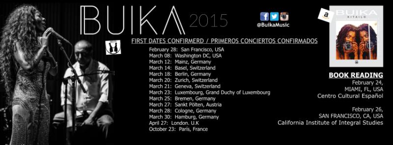 buika tourdaten 2015