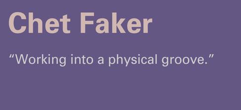 chet faker fader mix