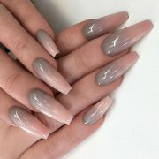 stunning ombr nail design