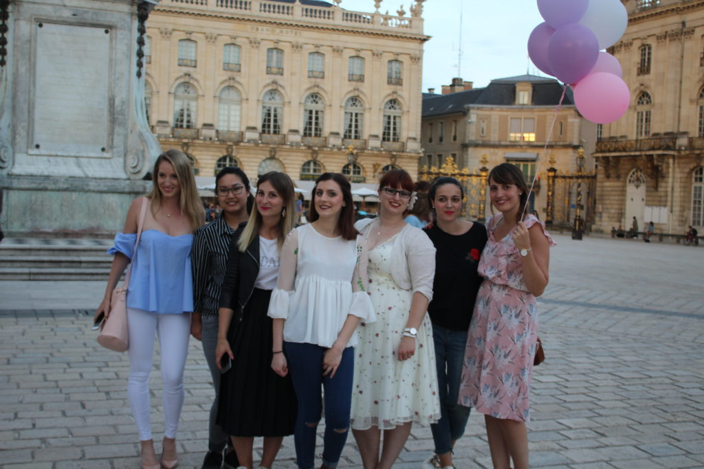 Nancy en rose avec Elles en parlent_souliervertblog