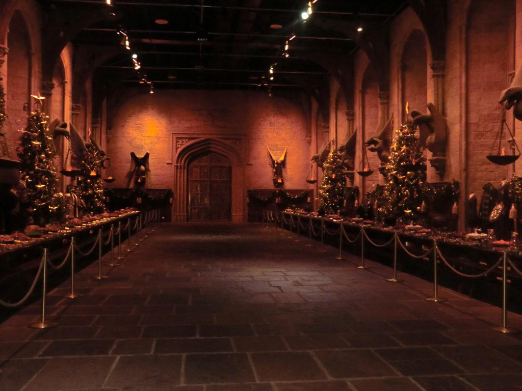 Grande salle studios_Génération Harry Potter_souliervertblog