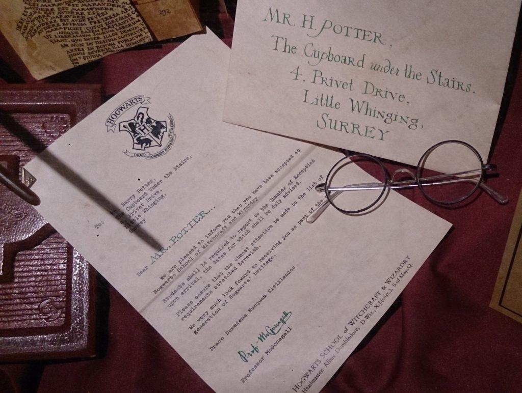 Ma lettre poudlard_Génération Harry Potter