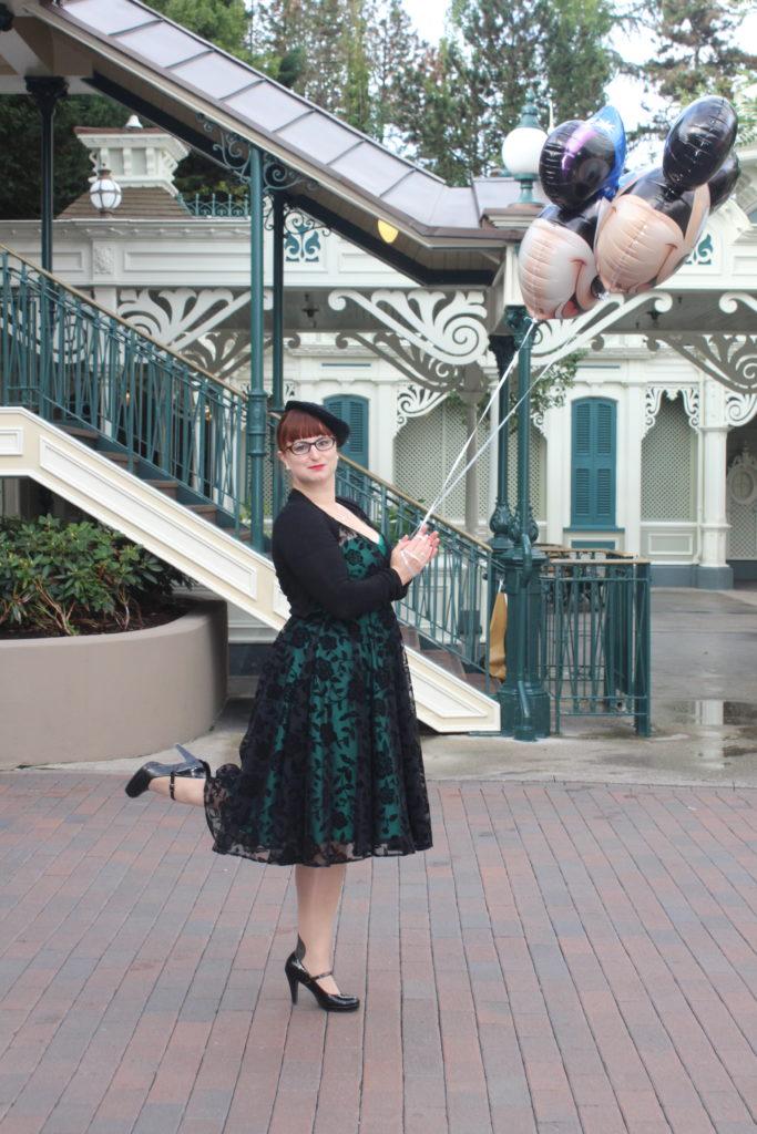 Soulier Vert ballon, Disneyland Dapper Day-Fall 2017_souliervertblog